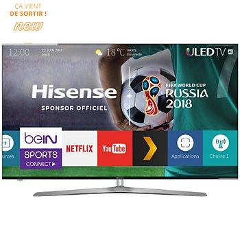 "TV 65"" HiSense H65U7A - 4K UHD, HDR, Dalle VA, 100 Hz (via ODR de 200€)"
