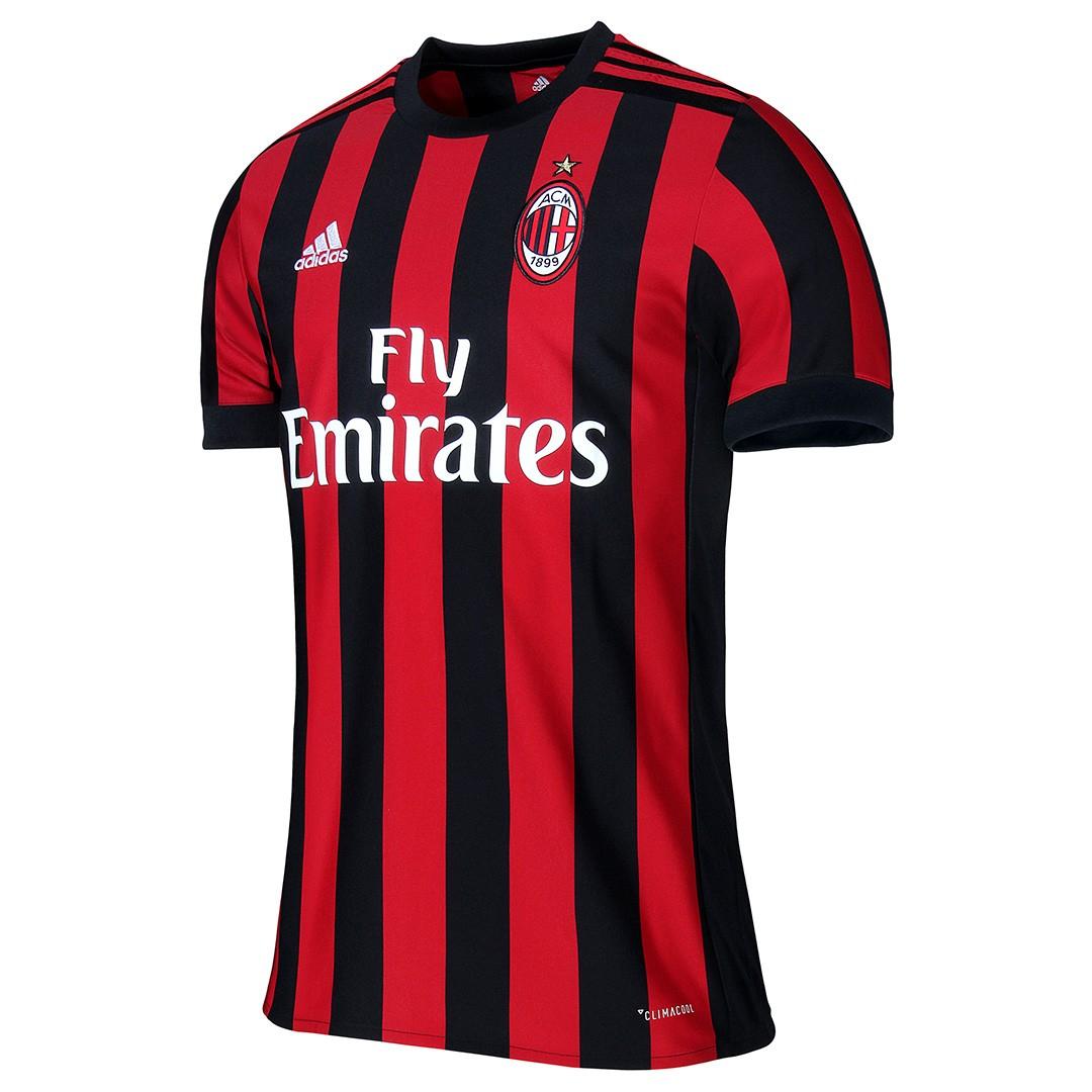 Séléction de maillots du Milan AC en promotion - Ex: Maillot Milan AC domicile