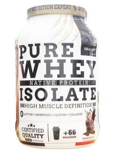 Protéines Eric Favre - Pure 100% Isolate Whey Native - 2Kg