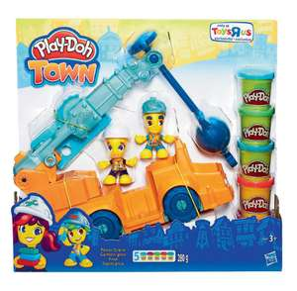 Camion Grue Play-Doh Town (Dès 3 Ans)