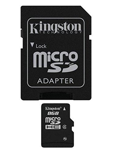 [Panier Plus] Carte Kingston Micro SD SDC4 - Classe 4 + Adaptateur SD (vendeur tiers)