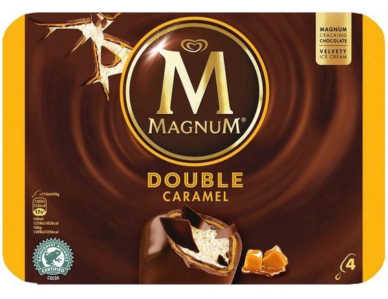 [Carte de fidélité] Jusqu'à 70% de réduction sur le 2ème article du rayon Glace, Dessert - Ex: 2 boîtes de 4 Glaces Magnum - Double caramel à 5,59€ (via 3,01€ sur carte de fidélité)