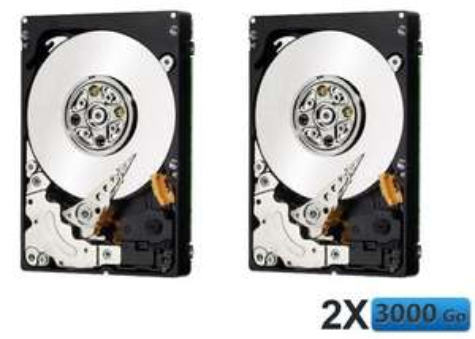 2 disques dur internes 3 To western digital
