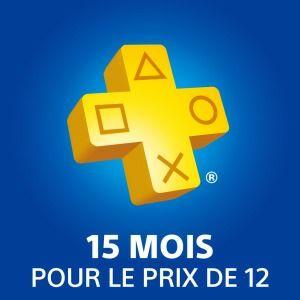Abonnement PlayStation Plus - 15 mois (Dématérialisé)
