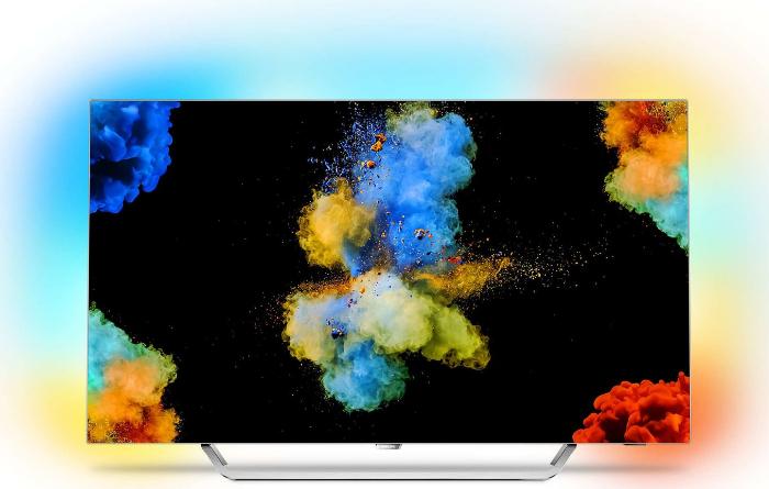 "TV OLED 55"" Philips 55POS9002 avec Ambilight (3 Côtés) - UHD 4K, HDR, Smart TV  (Via ODR 200€)"