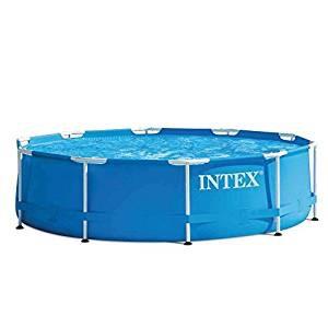 Kit de Piscine Tubulaire Intex 28202NP - Bleu - 305 x 305 x 76 cm - 4500 L