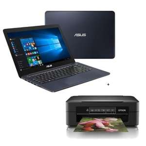 "PC Portable 14"" Asus E402NA-GA029T - HD, N3350, RAM 4 Go, eMMC 32 Go, Windows 10S + Imprimante EPSON Imprimante multifonction 3 en 1 Expression H Offerte"
