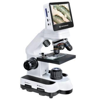 Microscope Bresser 40x-1400x avec écran LCD tactile
