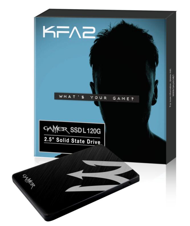 "SSD Interne 2.5"" KFA2 Gamer L (Mémoire TLC) - 120 Go"