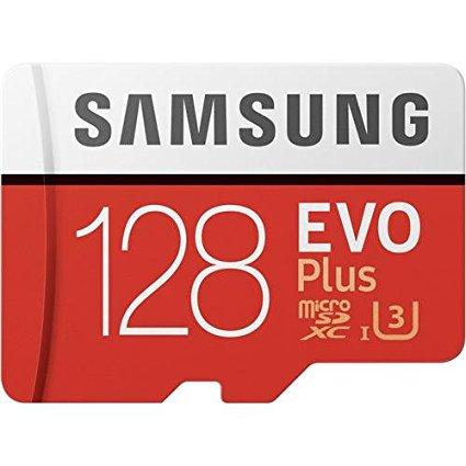 Carte Micro SDXC Samsung Evo Plus U3 - 128 Go avec adaptateur SD (MyMemory)