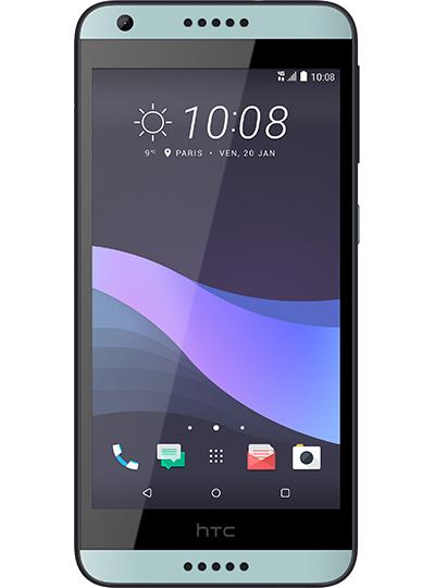 """Smartphone 5"""" HTC Desire 650 - 2 Go de RAM, 16 Go à 79€ pour les abonnés RED ou pour toute souscription au forfait RED by SFR 30 Go (+3Go en Europe), appels et SMS/MMS illimités à 10€ par Mois - Sans engagement"""