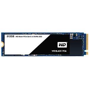 SSD interne M.2 NVMe Western Digital WD Black (TLC) - 512 Go