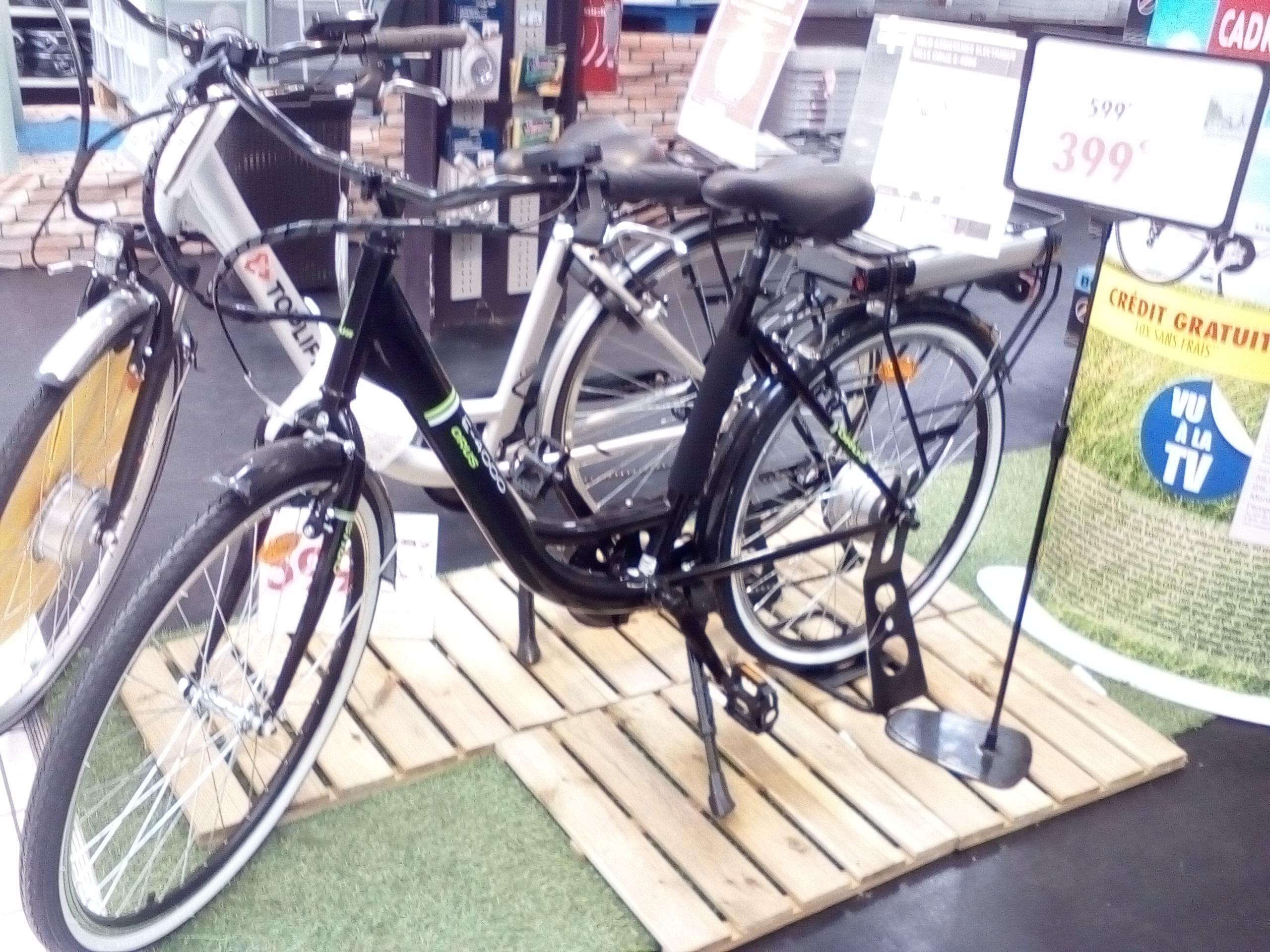 """Vélo de Ville 26"""" Orus E-4000 à Assistance Electrique"""