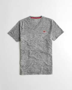 T-Shirt Hollister Must-Have V-Neck (taille XS ou S)