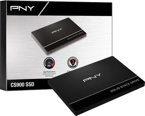 "SSD interne 2.5"" PNY CS900 - 240 Go"