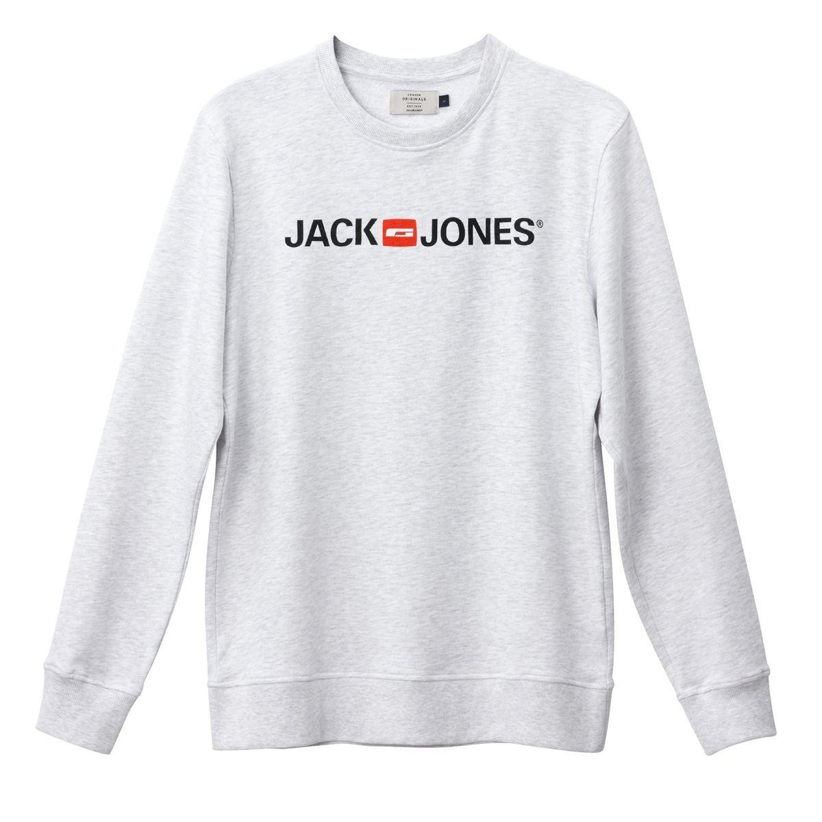 Sélection d'articles de marque Jack&Jones en promotion - Ex : Sweat Col Rond