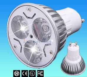 lot de 10 Spots LED GU10 / 9 W 12 W 15 W / Blanc - Doux - Froid / avec ou sans variateur