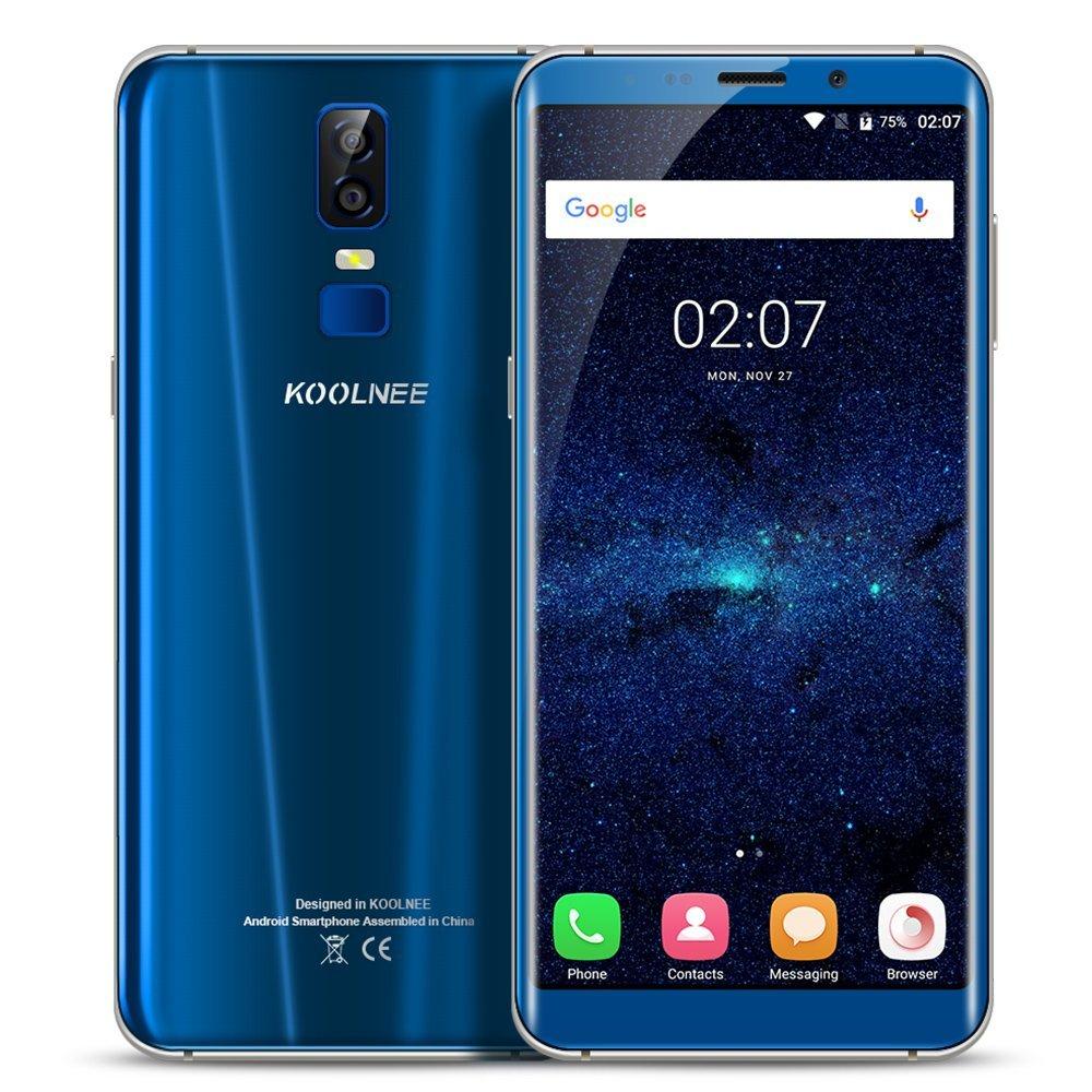 """Smartphone 6"""" Koolnee K1 - 4 Go RAM, 64 Go ROM, B20 - Bleu (Vendeur tiers)"""