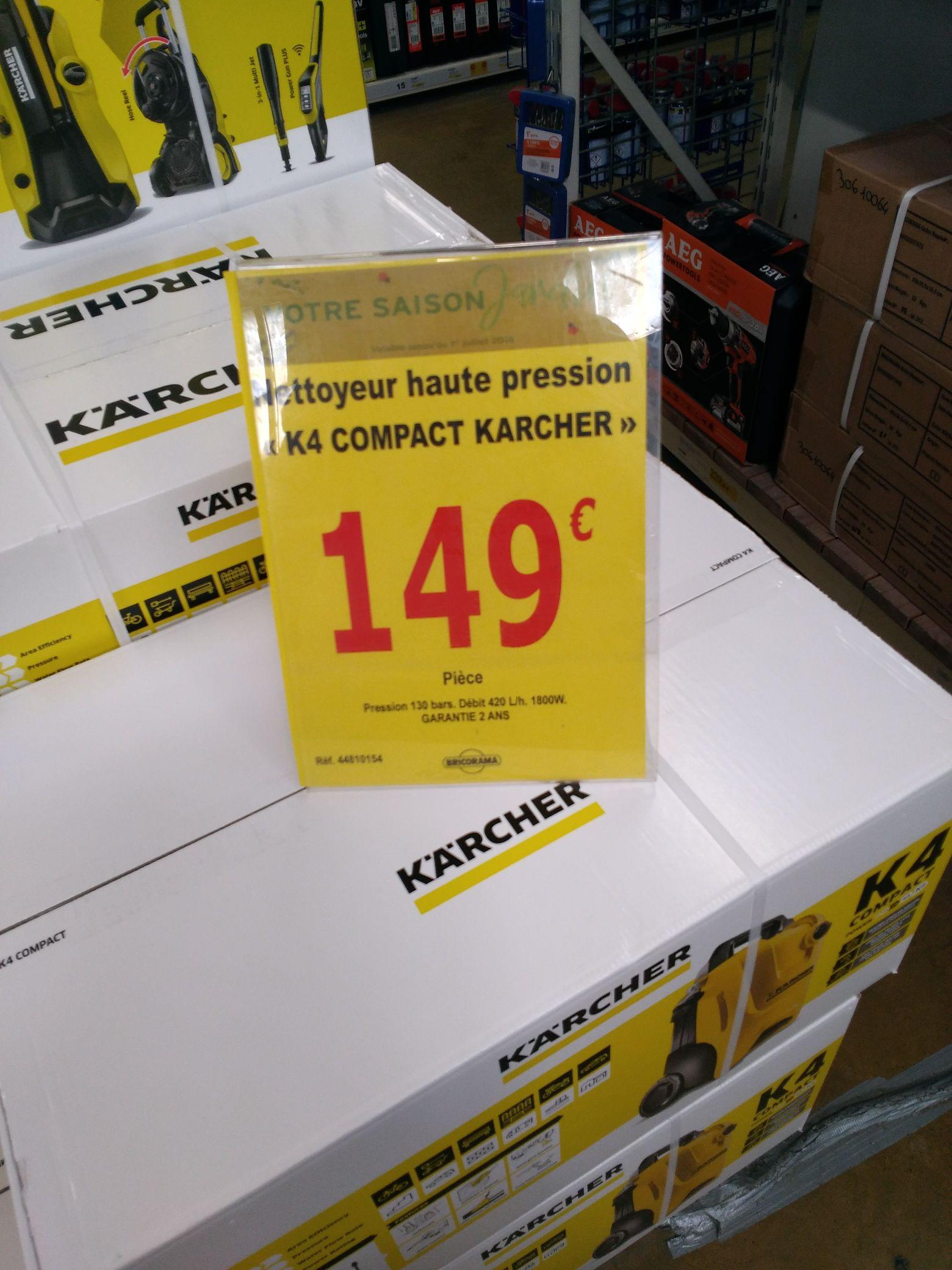 Nettoyeur haute pression Karcher K4 Compact - Soissons (02)