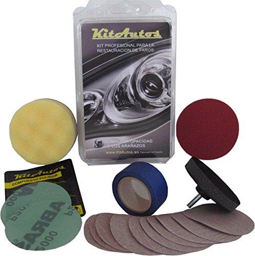 Kit de polissage Kitautos KF75MM pour phares