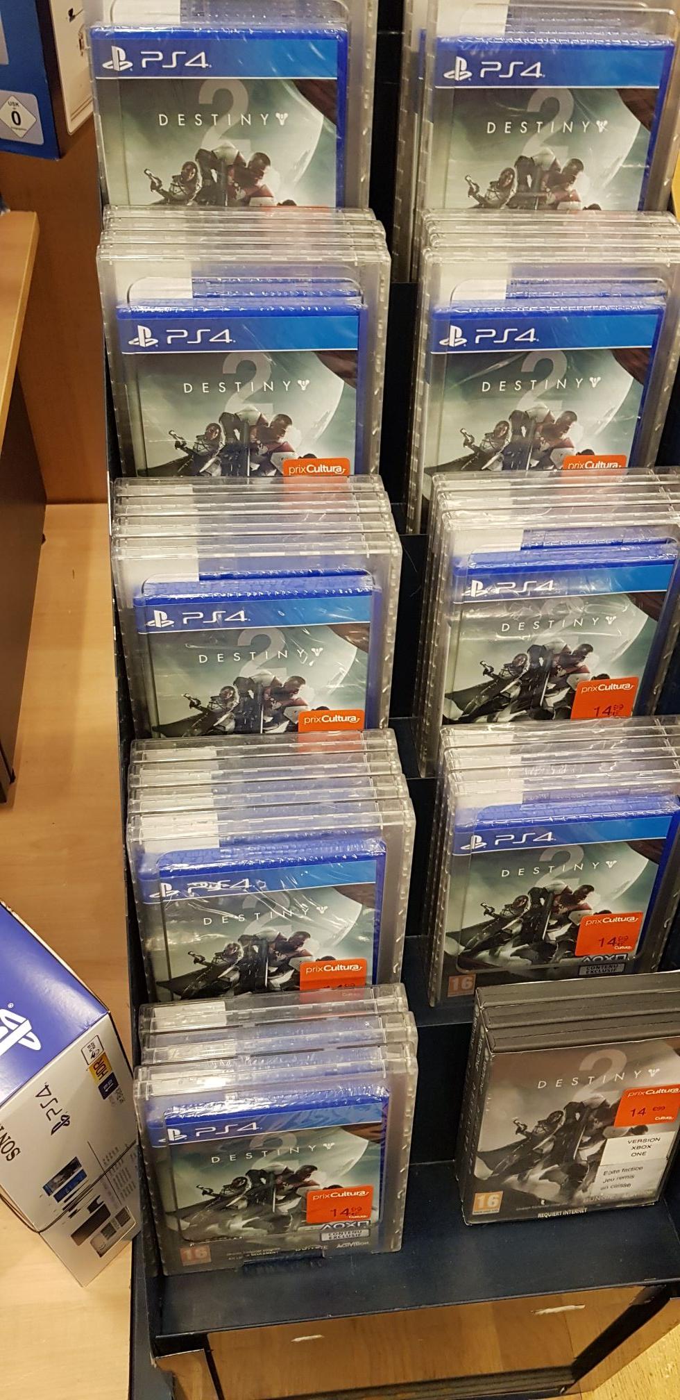 Jeu Destiny 2 sur PS4 et Xbox One - Barentin (76)