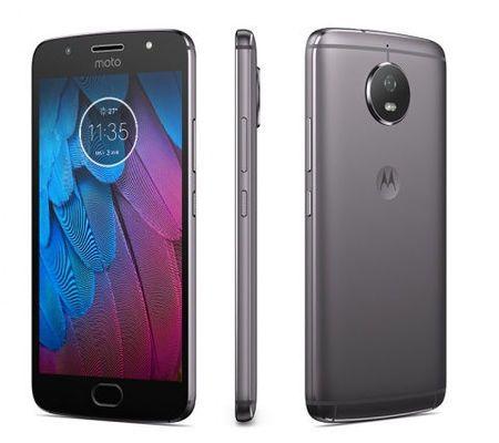 """Smartphone 5,2"""" Motorola Moto G5S - FullHD, S430, 3Go de RAM, 32Go de ROM, Android 7"""