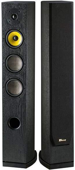 Paire d'enceintes colonne Davis Acoustics Matisse HD Frêne Noir + smartphone Nokia 2