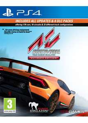 Jeu Assetto Corsa Ultimate Edition sur PS4 et Xbox One