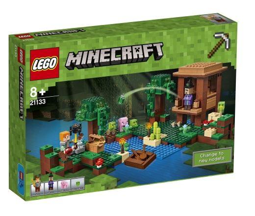 Jeu de construction Lego Minecraft: La Cabane De La Sorcière (21133)