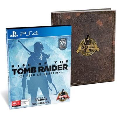 Rise of the Tomb Raider 20ème Anniversaire - Edition Limitée Artbook sur PS4