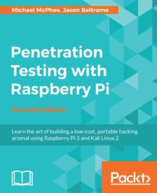 Livre numérique Penetration Testing with Raspberry Pi - Second Edition gratuit (dématérialisé)