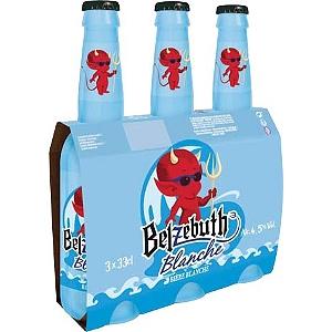 Lot de 2 packs de Bières Belzebuth Blanche - 6x33cl