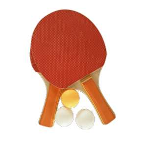 Set de 2 raquettes Tennis de table + 3 balles