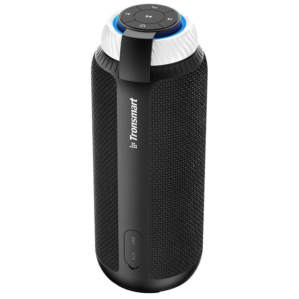 Enceinte Bluetooth 360° Tronsmart Element T6 (25W, Autonomie 15h) - Noir à 19.99€ ou Rouge à 20.49€ (vendeur tiers)