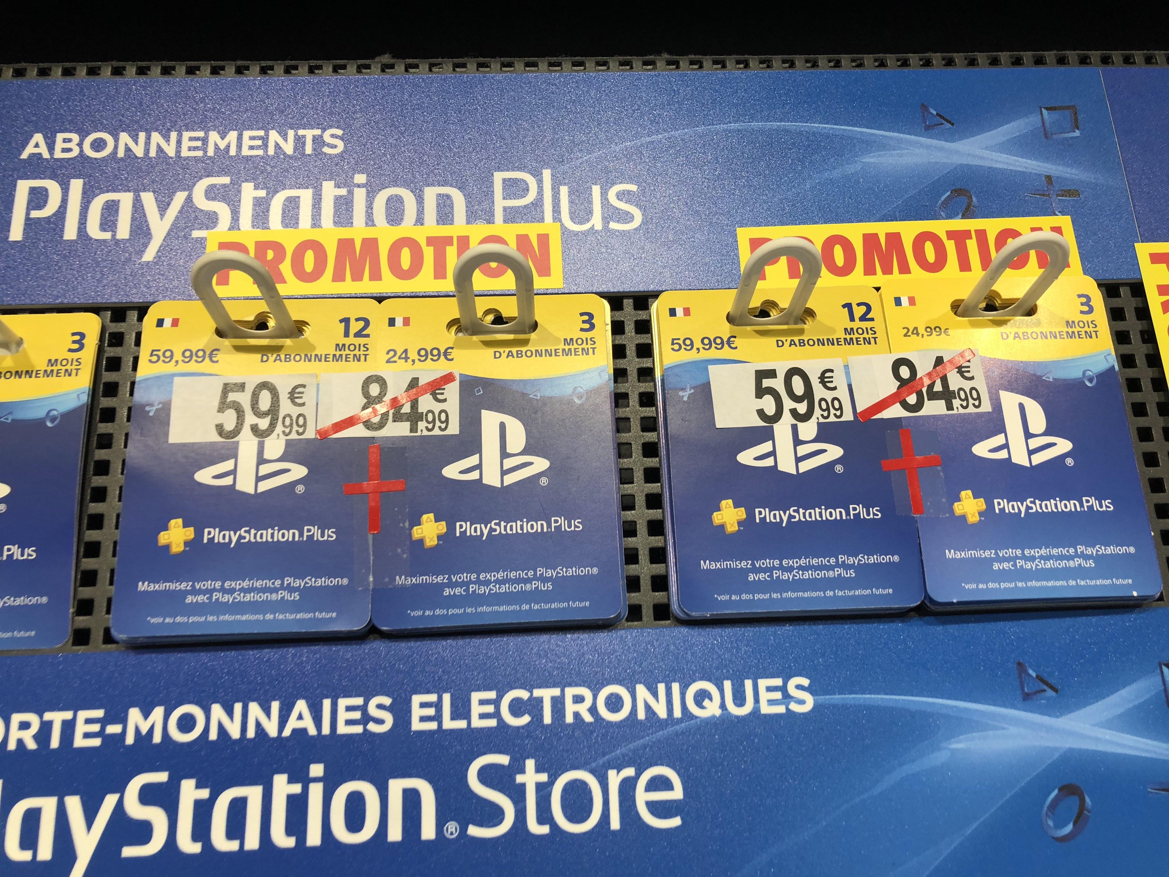 Abonnement PlayStation Plus 15 Mois