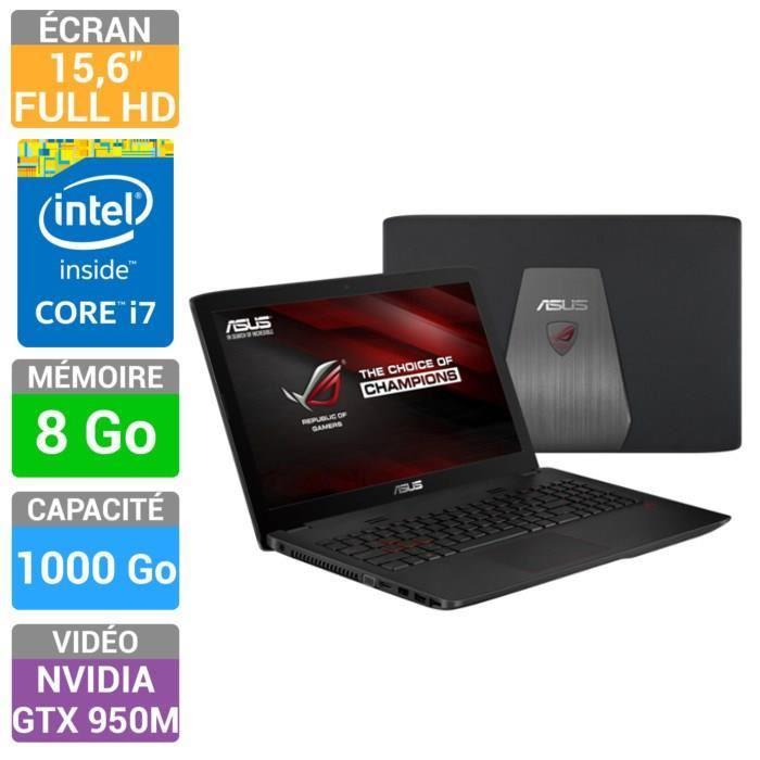 "PC portable gamer 15.6"" Asus ROG GL552JX-DM089H"