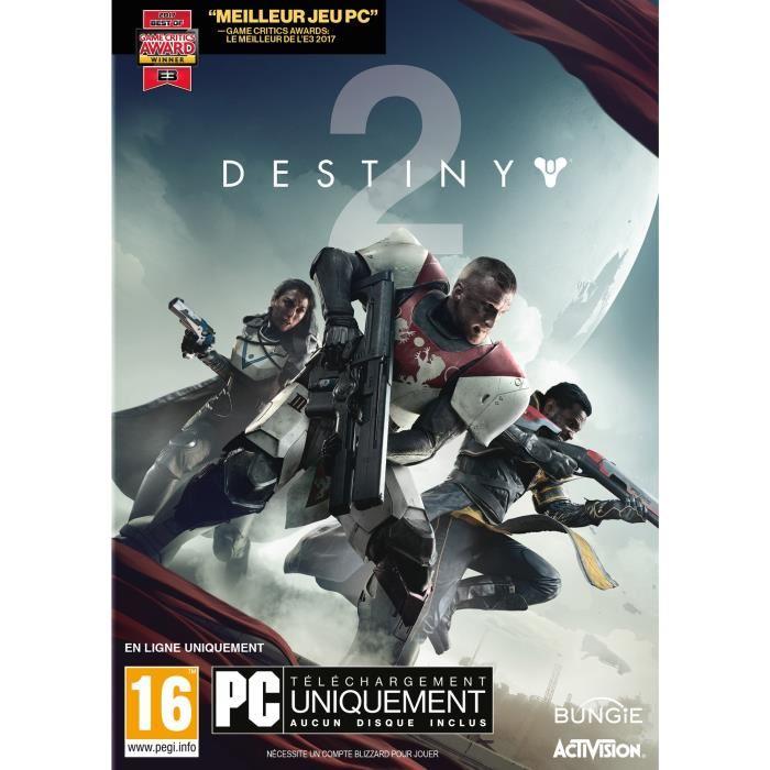 Jeu Destiny 2 sur PC