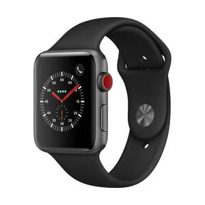 Montre connectée Apple Watch Series 3 (GPS + Cellular) - 42 mm (Frontaliers suisses)