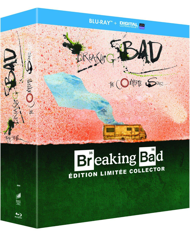 Coffret Blu-ray Intégrale Breaking Bad - Edition limitée Collector + 40€ de Blu-rays au choix