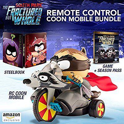 South Park : L'Annale du Destin Edition Deluxe (The Fractured but Whole Remote Control Coon Mobile Bundle) sur Xbox One (livraison et taxes incluses)