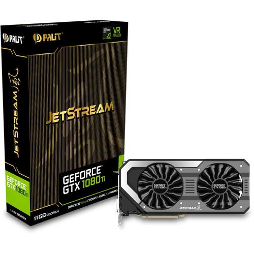Carte graphique Palit GeForce GTX 1080 Ti JetStream - 11 Go