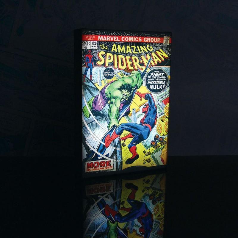 Précommande : Cadre Lumineux Luminart Marvel Comics