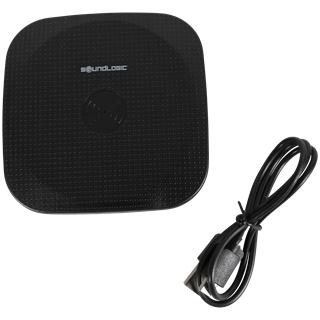 Chargeur à induction pour smartphone SoundLogic Qi - blanc ou noir