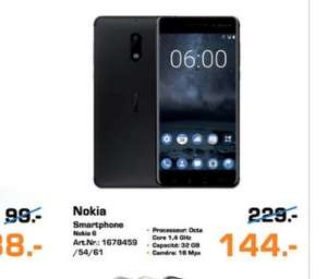 """Smartphone 5.5"""" Nokia 6 (Frontaliers Luxembourg)"""