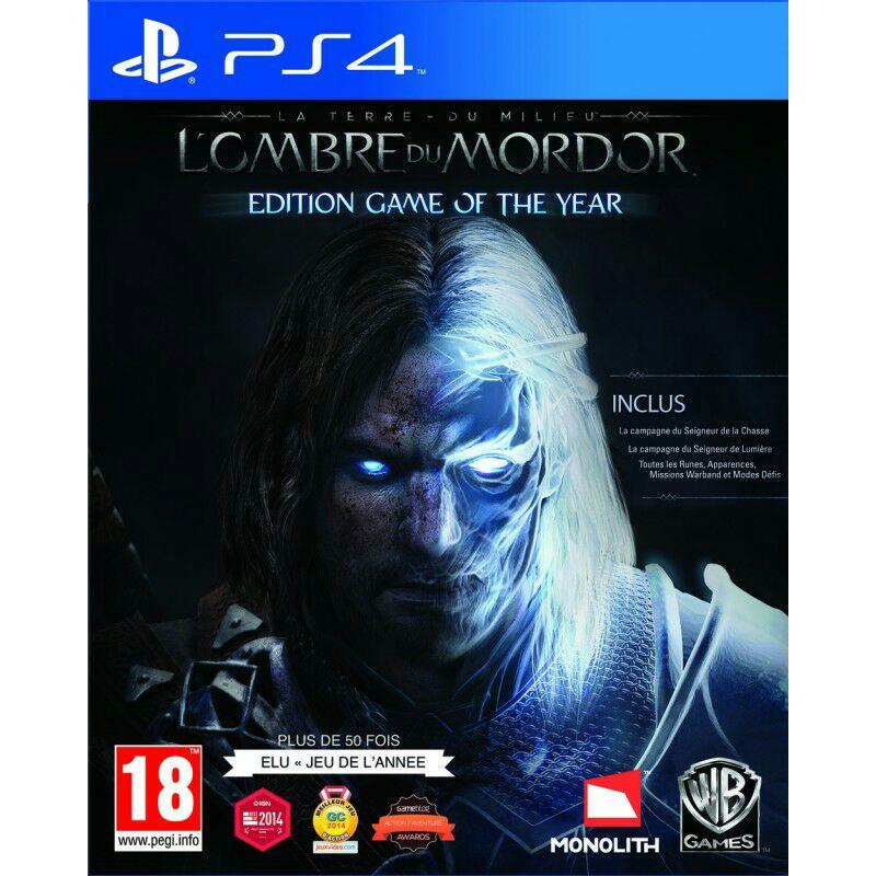 La Terre du Milieu : L'Ombre du Mordor - Édition GOTY sur PS4