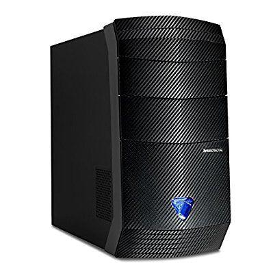 Tour PC Fixe Medion Erazer P4609D - i7-7700, RAM 8Go, 1To + SSD 120Go, GTX 1060 6Go, Windows 10
