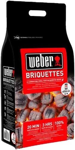 2 Sacs de Briquettes Weber - 4Kg + Cheminée offerte - Pontault-Combault (77)