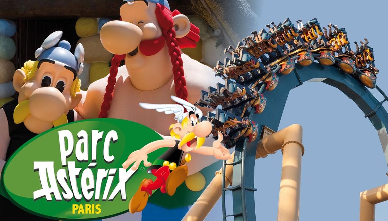 Billet Adulte pour le parc d'attractions Astérix à 34.5€ ou Enfant (de 3 à 11 ans) à 28.5€ - Plailly (60)