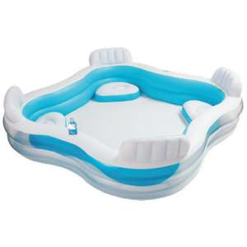 Piscine gonflable avec 4 sièges - Intex Swim Center
