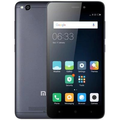 "Smartphone 5"" Xiaomi Redmi 4A (Global) Gris - 4G (B20), HD, Snapdragon 425, RAM 2 Go, ROM 32 Go"